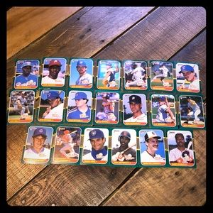 "Donruss 1987 ""The Rookies"" baseball cards"